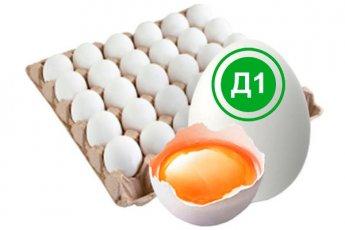 Яйцо куриное деревенское 1 категория белое