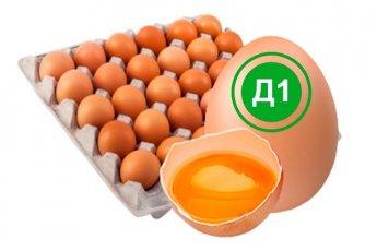 Яйцо куриное деревенское 1 категория