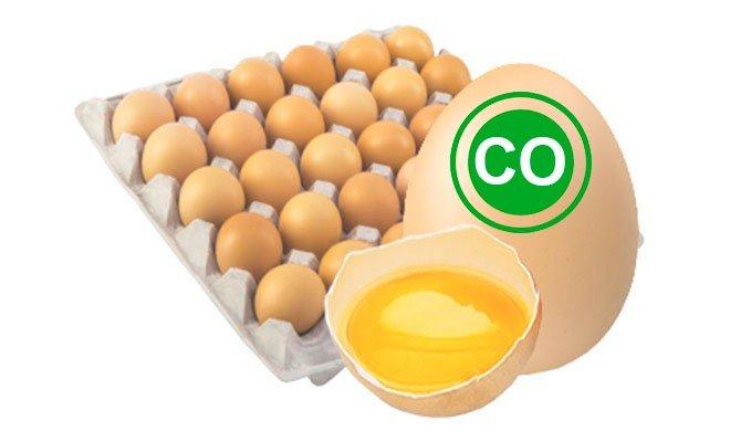 Яйцо куриное столовое отборное кремовое