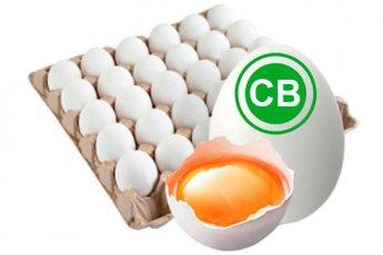 Яйцо куриное столовое высшей категории белое